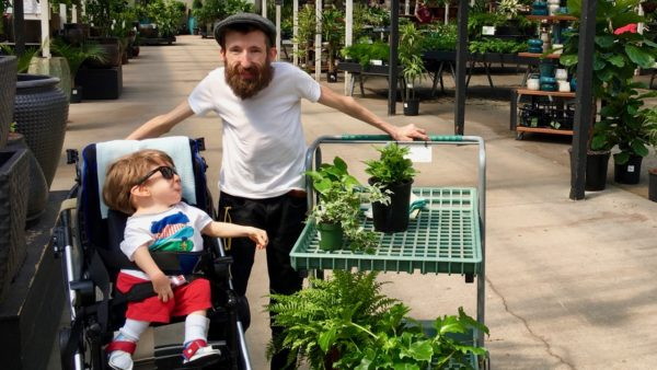 Noah and Steve at The Plant Store